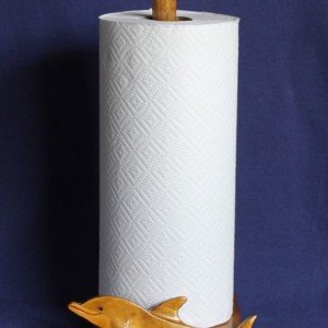 Bottle-Nosed Dolphin Paper Towel Holder