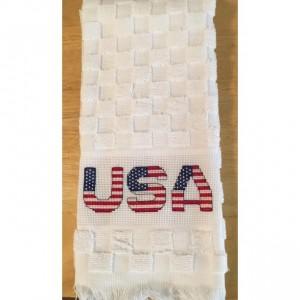 USA Patriotic hand towel
