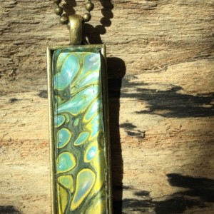 Fluid Art jewelry