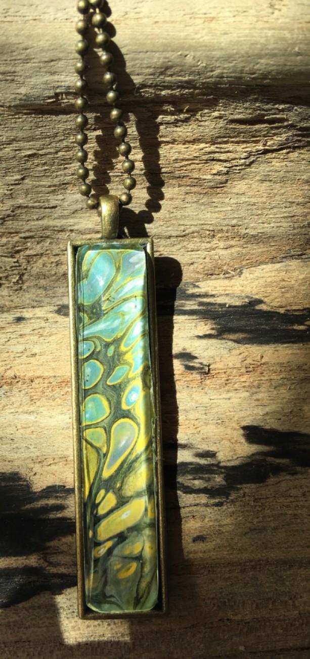 Fluid Art jewelry