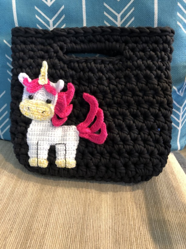 Unicorn purse / unicorn bag / rainbow unicorn