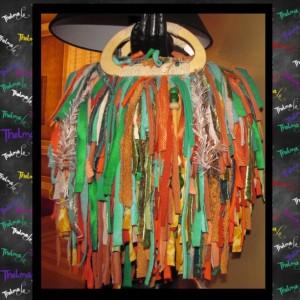 Upcycle Fringe Purse,Unique,Handmade Purse,Custom Made,One Of A Kind,Hippie,BoHo,Funky,Purse
