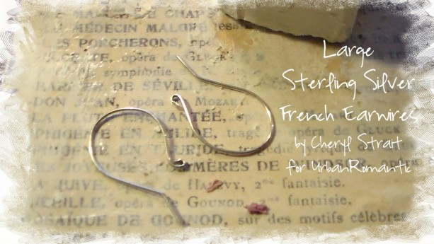 Made to Order Sterling Silver French Earwires Large