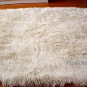 5' x 7' Luxury Shaggy Rug Sheepskin Flokati Plush Area Rug One of a Kind Luxury Custom Made USA Nursery Rug Bearskin Rug