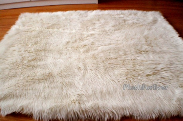 5u0027 x 7u0027 luxury shaggy rug sheepskin flokati plush area rug one of a - Bearskin Rug