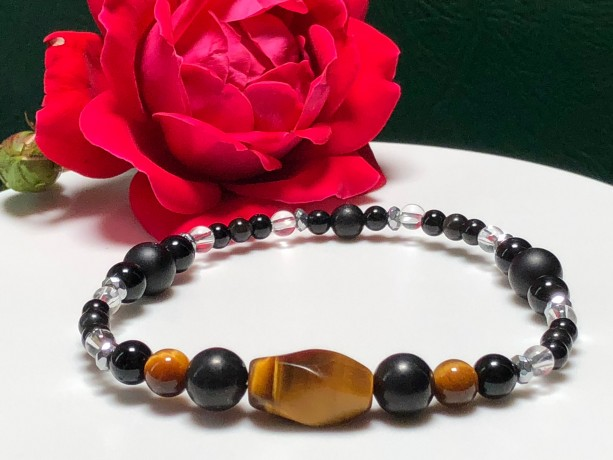 Ladies Strong Protective Bracelet  |  Protection  |  Stress  |  Jealousy |  Health  |  Shungite  |  EMF Radiation