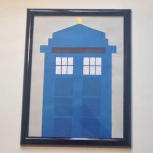 Doctor Who TARDIS Dry Erase Board