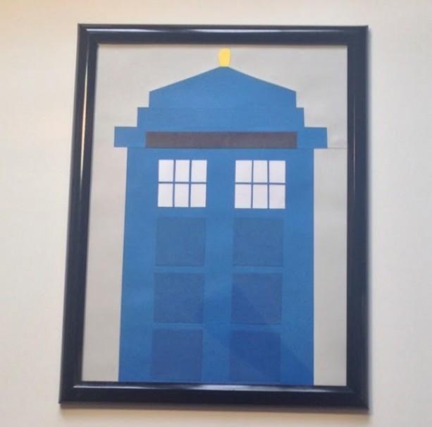 Doctor Who TARDIS Dry Erase Board