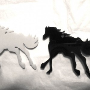 Horse charms,horse jewelry,horses,laser cut charms,