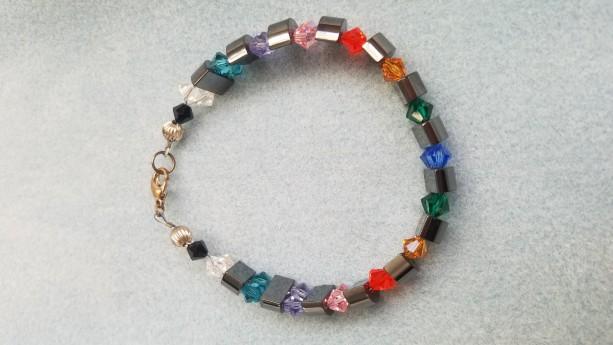 hemalyke rainbow bracelet