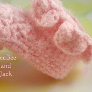 Fairy Baby Booties 0-3 Months