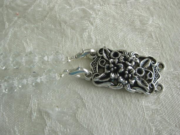 Interchangeable Charms for DIY bracelets Double row flowers plus bracelet