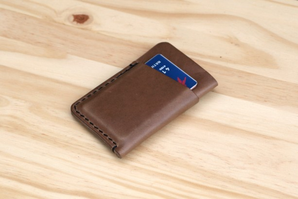 Leather Wallet Slim Minimalist Leather Card Holder Aftcra