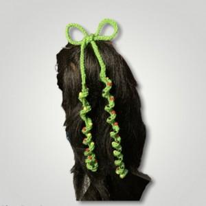 Cute Curly Q Hair Tie