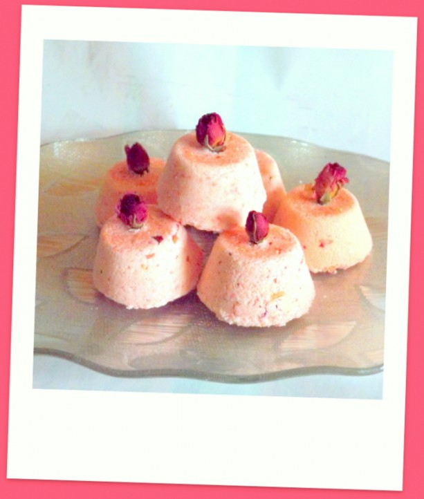 Rose Fizzy Bath Bombs