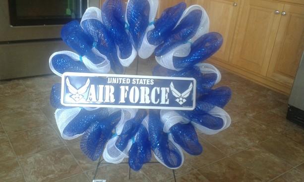 Air Force wreath