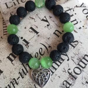 Celtic Knot Aromatherapy Essential Oil Diffuser Bracelet