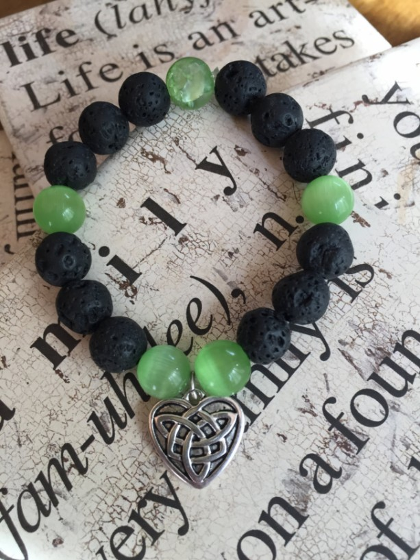 Celtic Knot Aromatherapy Essential Oil Diffuser Bracelet