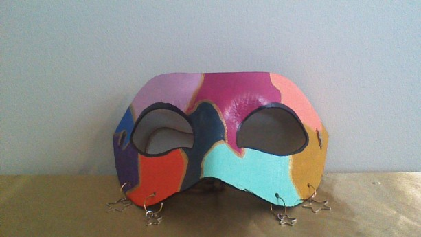 """Jester's Charm"" Cosplay/Masquerade Mask"