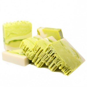 Cucumber Lime Scented Natural Soap | THREE Large Bars