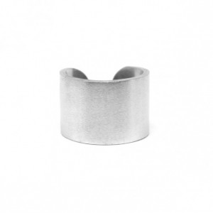 PRUDE RING: MATTE SILVER
