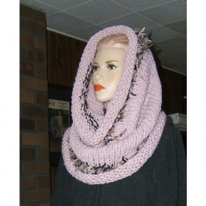 Strawberry Smoothie Hand Knit Cowl