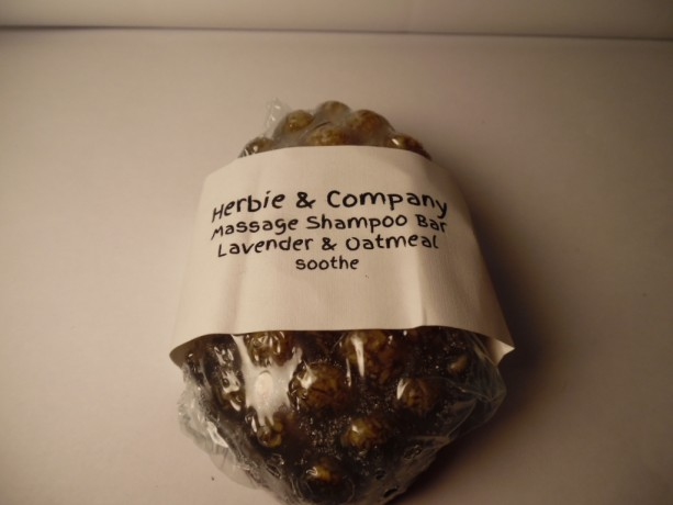 Herbie & Company Lavender Oatmeal Massage Shampoo Bar