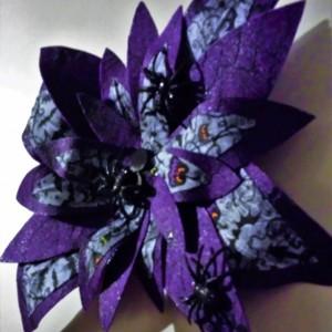 Halloween Wall Flower Sculpture