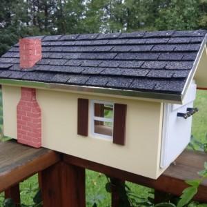 Wood Mailbox Custom Colors