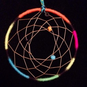 Airbrushed Dream Catcher