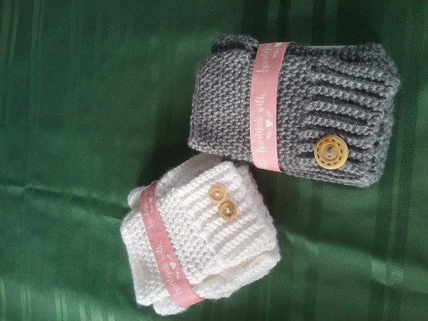 Fingerless Gloves and Boot Toppers