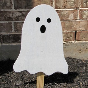 Ghost Yard Art, Halloween Decor,  Halloween Ghost, Wood Ghost