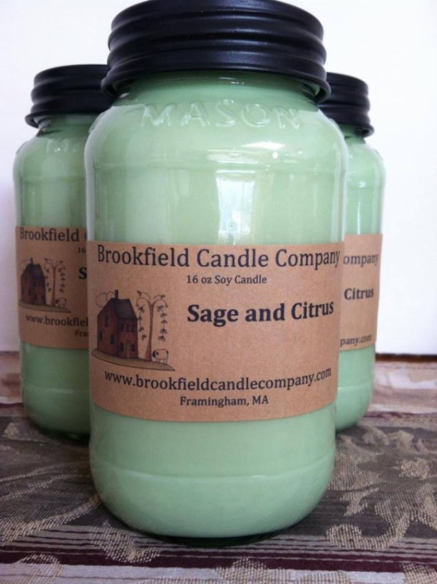 "16 oz Soy Candle  "" Our Best Seller"""