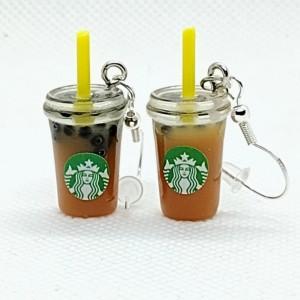 Ice Coffee Earrings