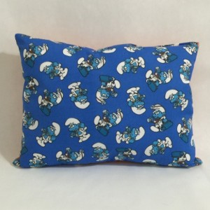 Smurfs Cotton Throw Pillow