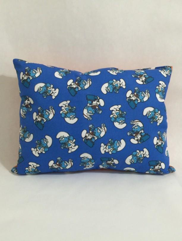 Smurfs Cotton Throw Pillow