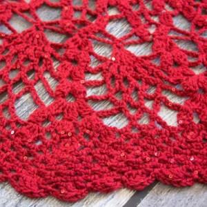 Crochet Shawl~Crochet Cape~Crochet Scarf