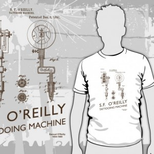 Tattooing Machine T-Shirt