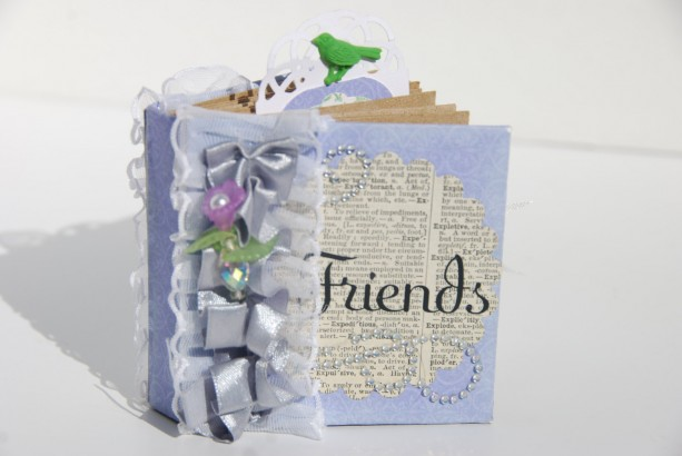 "Mini scrapbook 3x3 ""Friends"""