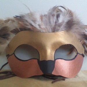 """""""Gryphon"""" Cosplay/Masquerade Mask"""