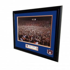 Auburn vs Alabama 2019 Iron Bowl Champions Custom Framed Picture