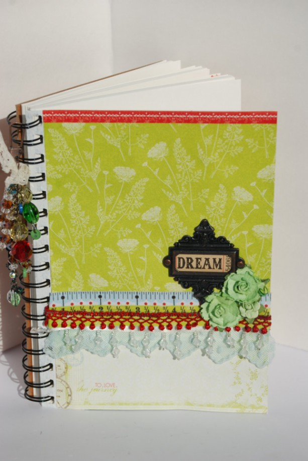 Altered Journal, Junk Journal, Scrapbook, Sketchbook, Diary