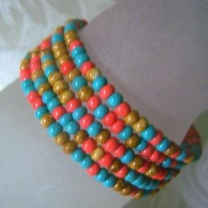 Cuff Bracelet Memory Wire Southwest Design