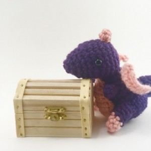 Set of 3 dragon, amigurumi dragon, plush dragon, dragon toy, fantasy animal, geek, mini dragons, kawaii, handmade, toys, plushie, GOT