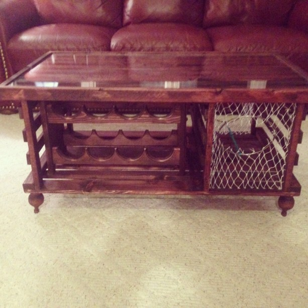 Brilliant Lobster Trap Coffee Table Wine Rack Andrewgaddart Wooden Chair Designs For Living Room Andrewgaddartcom