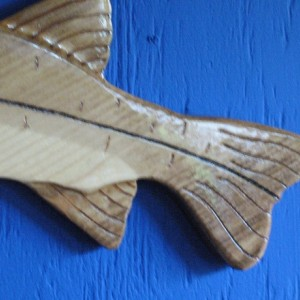 Snook Wall Plaque, Wall Hanging, Snook, Carved Snook Wall Plaque, Fish Wall Hanging, Fish
