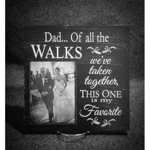 Custom Picture Frame, Gift for Dad, Father's Day Gift, Picture Frame, Father of the Bride, Wedding Gift, 12x12