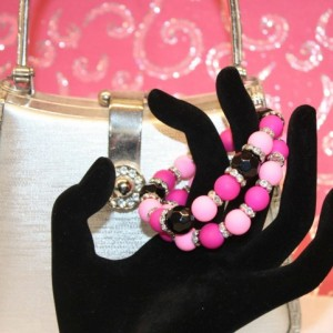 Sassy Chic Pink Bling