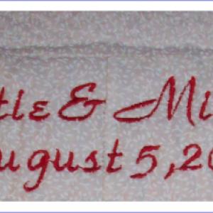 Signature Quilt - Wedding, Graduation, Anniversary, Baby Shower Gift