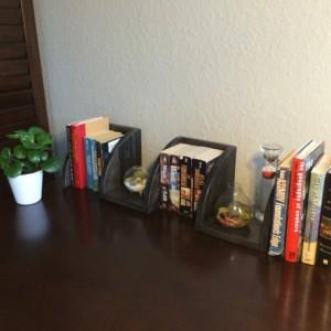 Handmade Zig Zag Rounded Front Corner Shelf